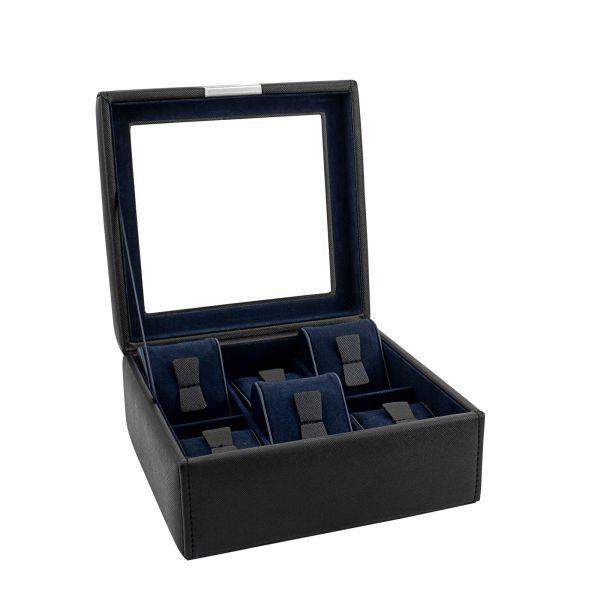Uhrenkoffer Bond 2.0 S - Schwarz