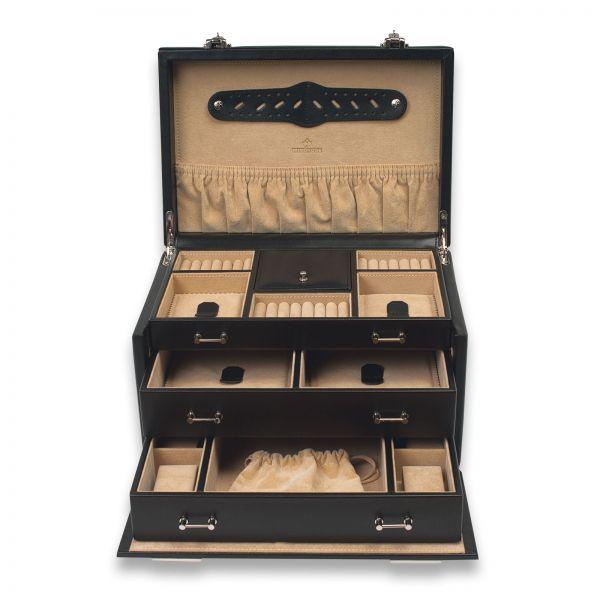 Schmuck- & Uhrenkoffer Ambience 4 - Schwarz