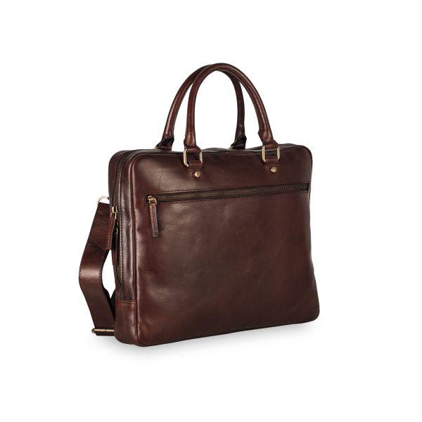 Cambridge Rv-Briefcase S / 1 Compartment - Redbrown