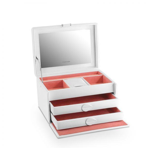 Jewelry Box Mandala M - White