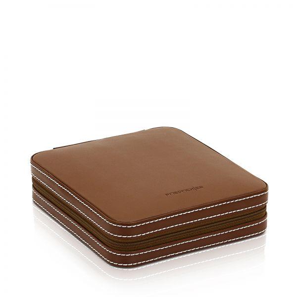 Cufflink and Ring Box Cordoba - Brown