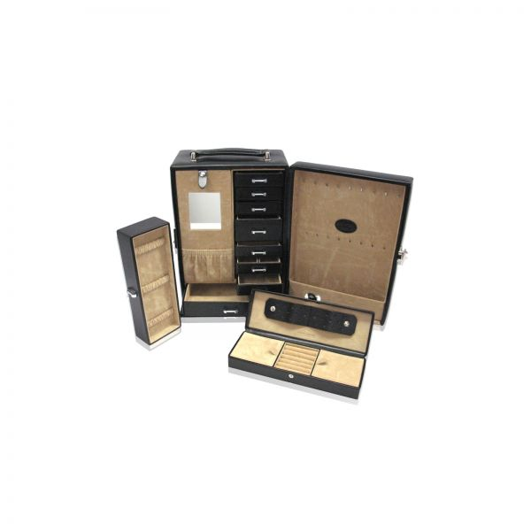 Jewelry Case Merino 19 - Black
