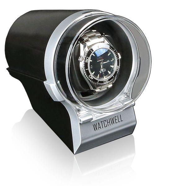 Vitrina de Movimiento para Relojes Automaticos Devo - Plate / Negro