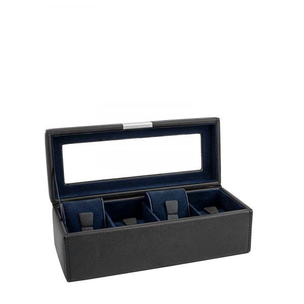 Uhrenkoffer Bond 2.0 - Schwarz