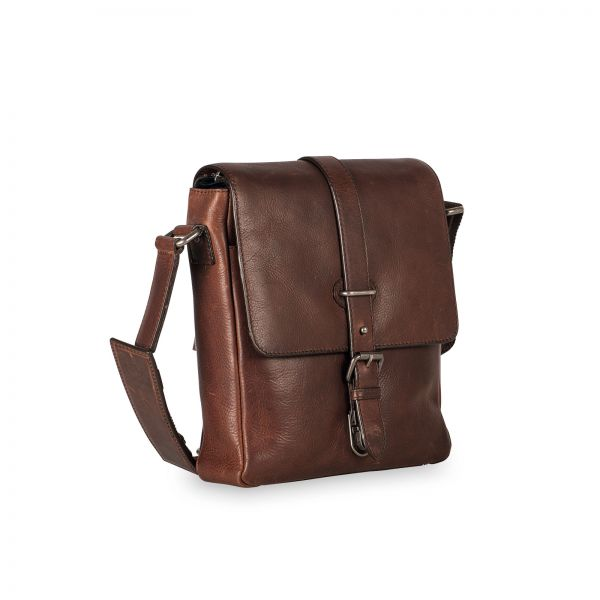 Roma Shoulder Bag S - Brown