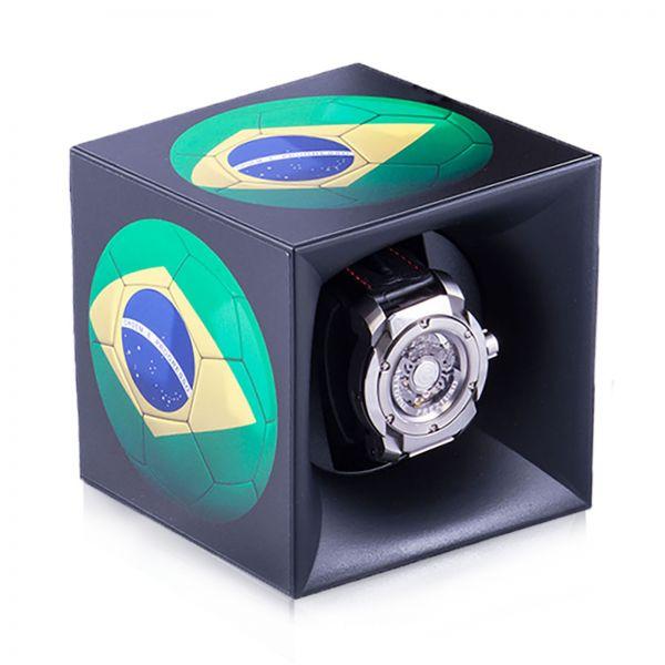 "Autocollant ""Brazil Soccer"" pour Swiss Kubik Starterbox"