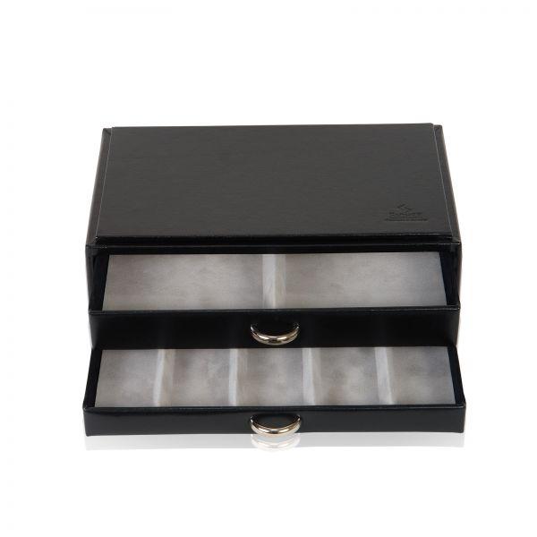 Schmuckkästchen Vario Ketten- und Armbandbox - Schwarz