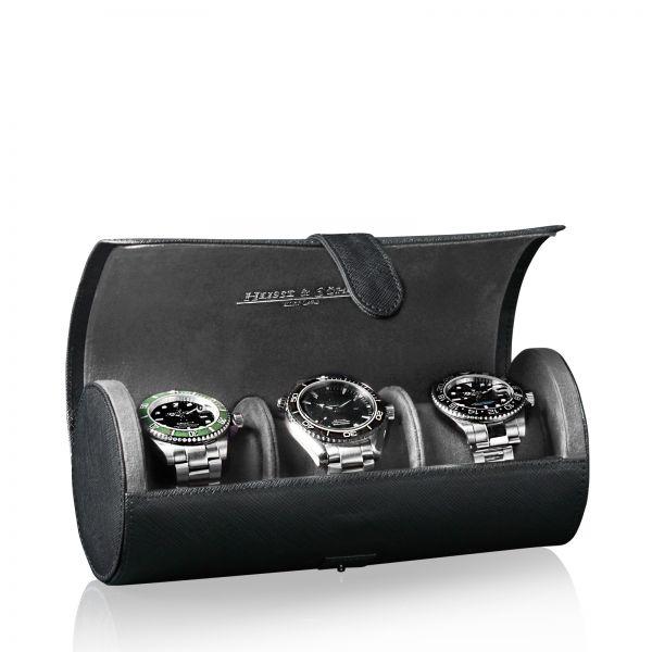 Uhrenrolle Rondo 3 - Schwarz
