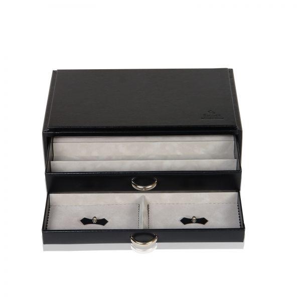 Joyero Vario / Caja para Collar De Perlas - Negro