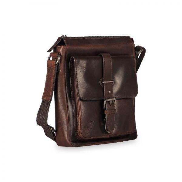 Roma Rv Shoulder Bag S - Brown