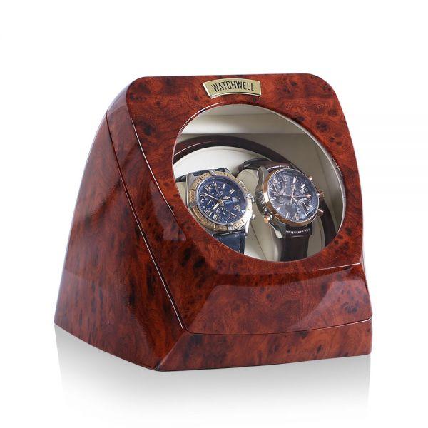 Watch Winder Asterion V1 - Burl Wood