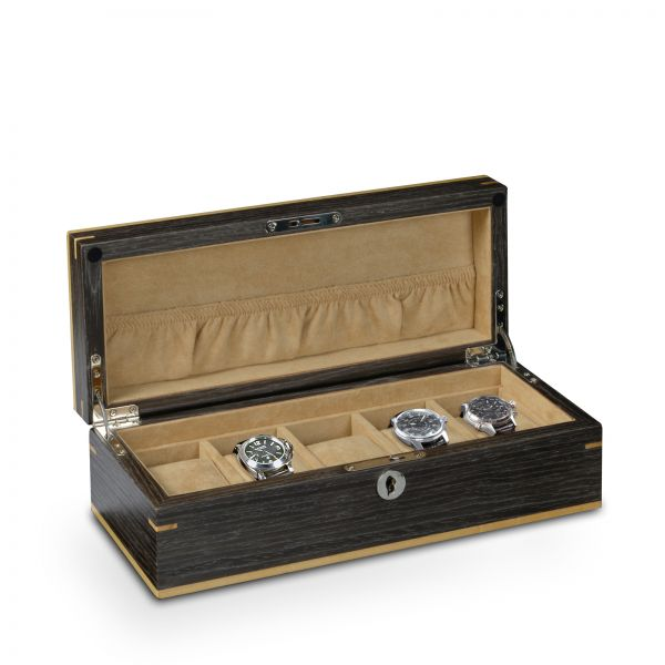 Watch Box Aberdeen 5 - Black