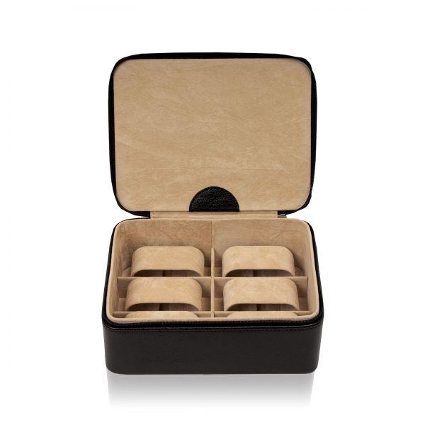 Uhrenkoffer Beluga 6 - Schwarz