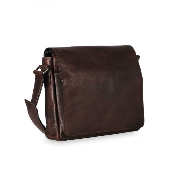 Roma Shoulder Bag M - Brown