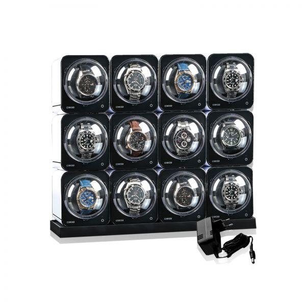 Vitrina de Movimiento para Relojes Boxy Fancy Brick 12 (02-112) - Comprar barato ✓ Calidad superior ▷ 250.000 clientes ✚ Entrega urgente ➨ Ahorre aho