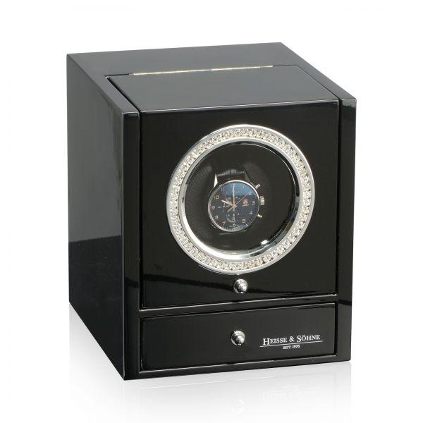 Vitrina de Movimiento para Relojes Automaticos Glamour - Negro
