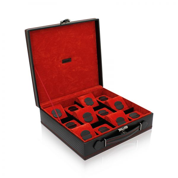 Watch Box Carbon 12 - Black