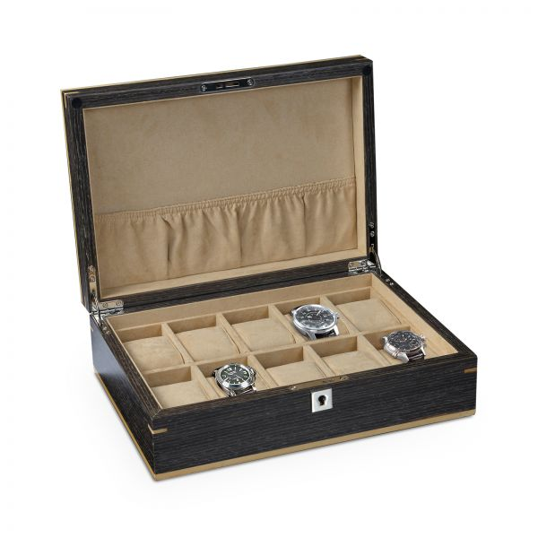 Heisse & Söhne Watch Box & Watch Case (19-90) -Buy online and Save ✓ Top Quality Ranking ▷ 250.000 Customers ✚ Shipping withinn 24 hours ➨ Save Now