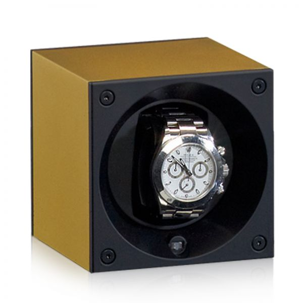 Watch Winder Alu Masterbox - Gold