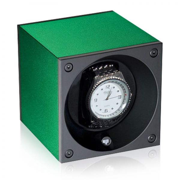 Watch Winder Alu Masterbox - Green