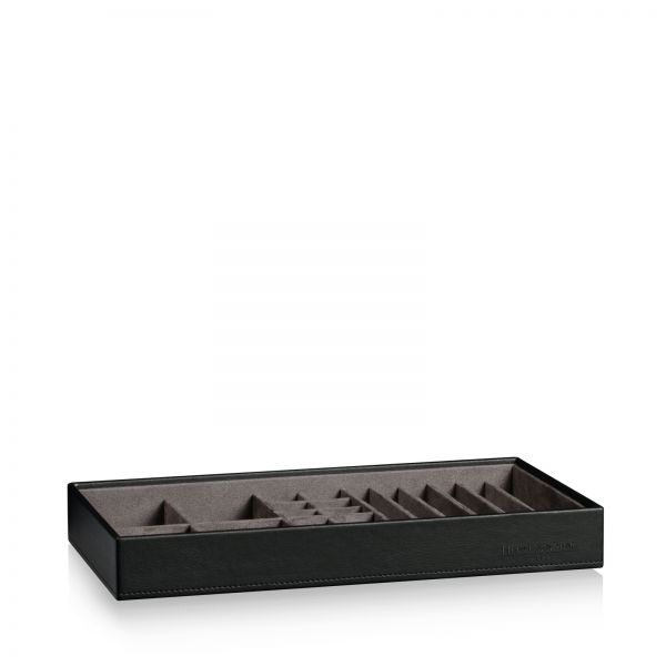 Stackable Jewelry Box Mirage XL - Bottom Part: Box for Pins / Cuffs / Rings / Bracelets