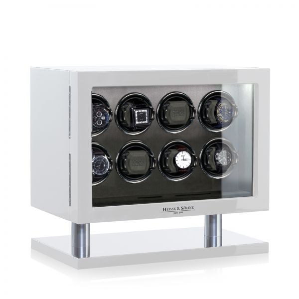 Uhrenbeweger Collector 8 - Weiß