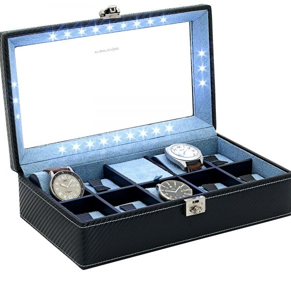 Watch Case Carbon M - Dark Blue