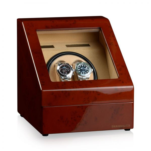 Watch Winder Monaco - Burl Wood