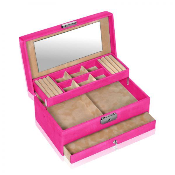Schmuckkästchen Coloranti Helen - Pink
