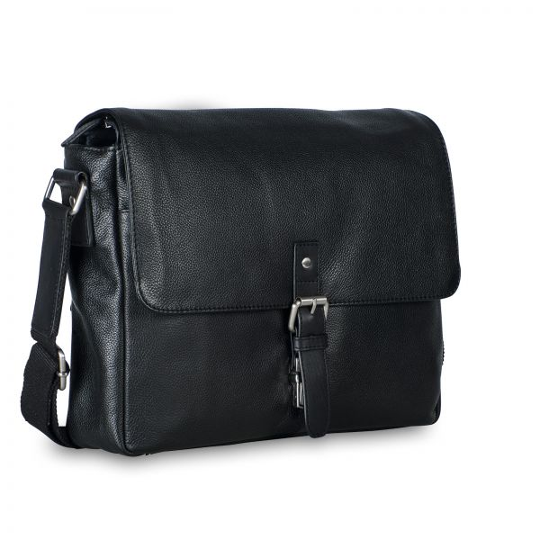 Berlin Shoulder Bag M - Black