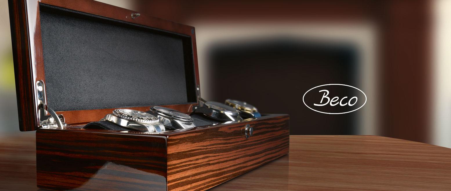 Beco Uhrenboxen
