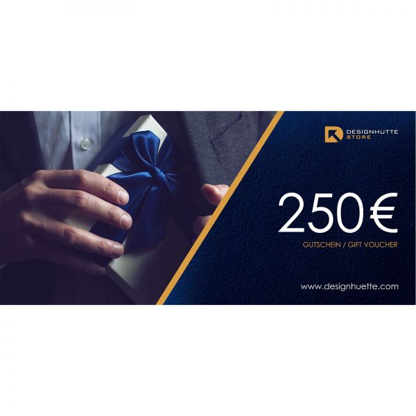Geschenk Gutschein 250 Euro