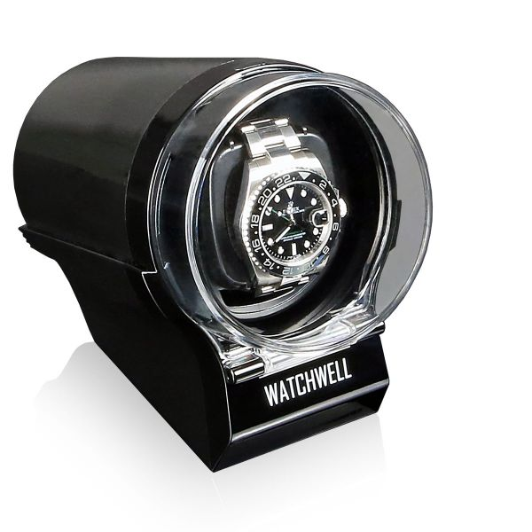 Watch Winder Devo - Black/Black