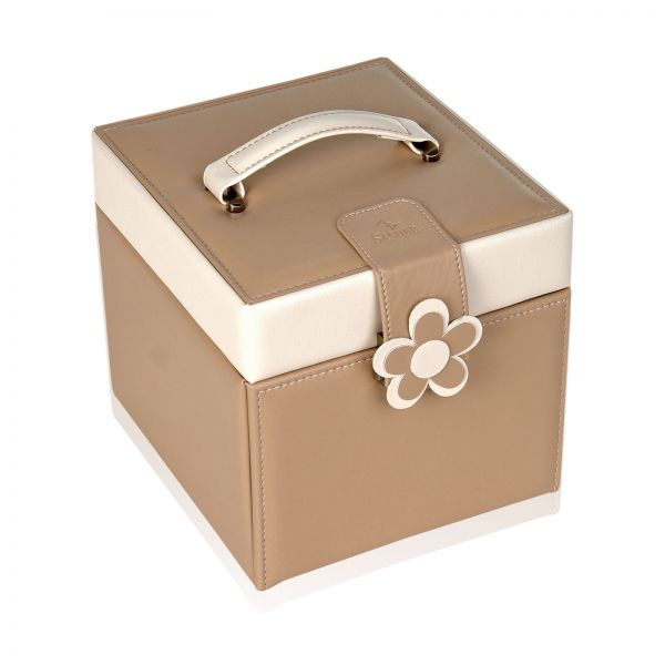 Jewelry Box Bella Fiore Erika - Beige