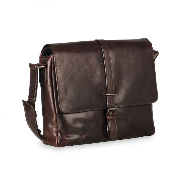 Roma Shoulder Bag M - Brown