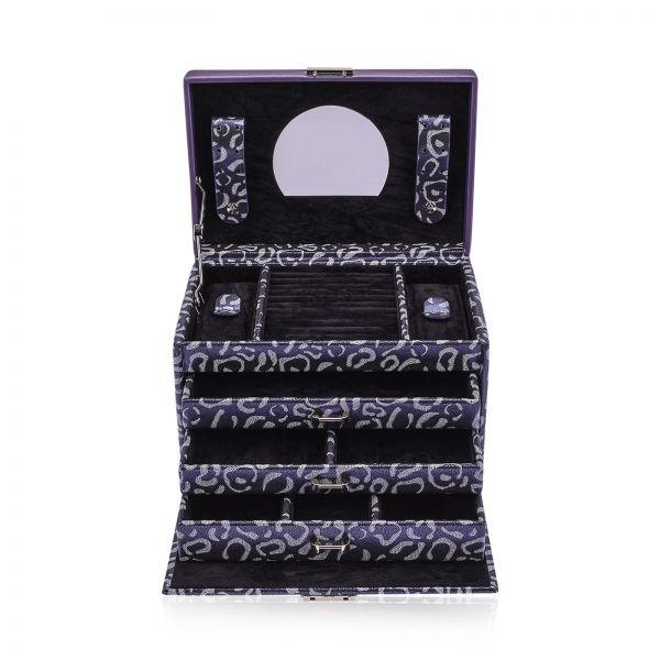 Jewelry Box Panthera - Purple L