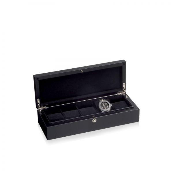 Watch Box Piano Silk 5 - Black