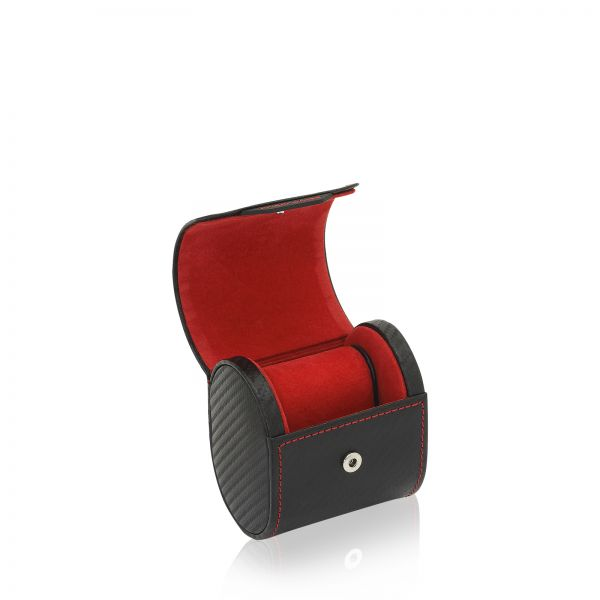 Uhrenbox Carbon 1 - Schwarz