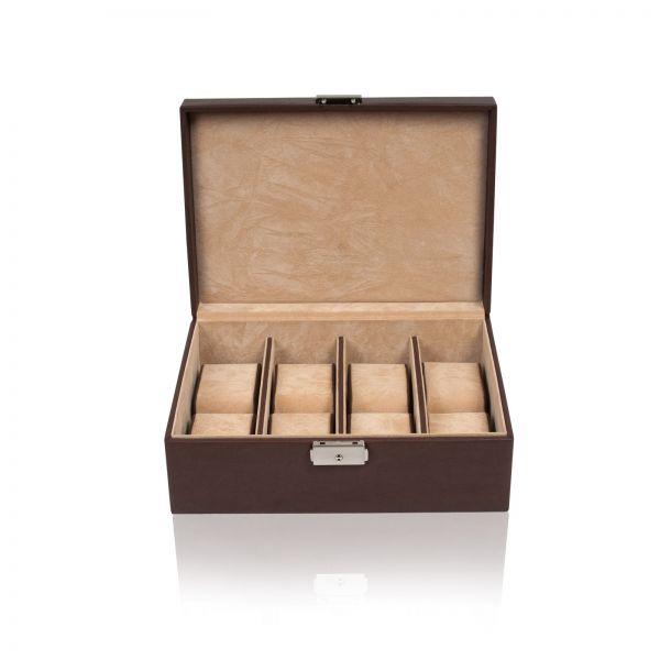 Uhrenbox Chrono 8 - Braun