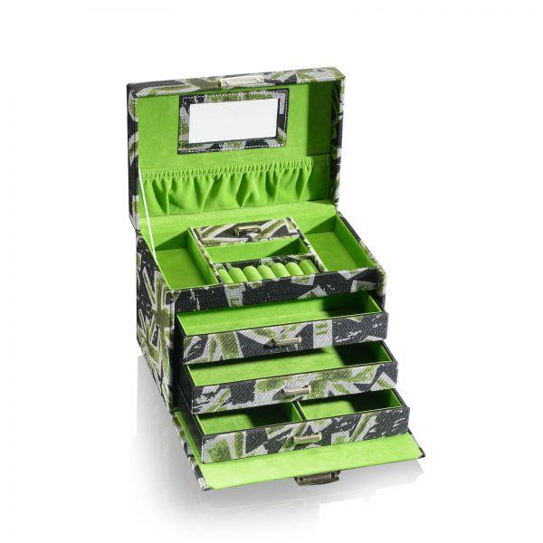 Jewelry Box / Jewelry Organizer Mia XL - Green