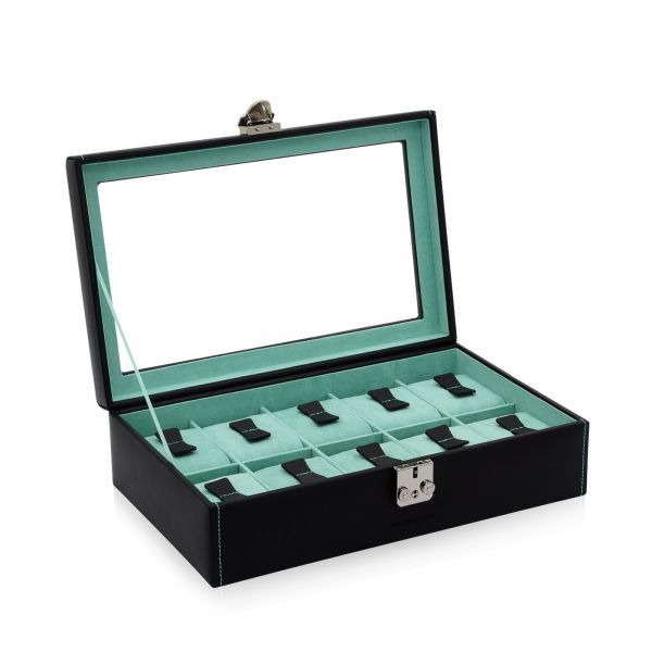 Watch Box Infinity 10 - Black/Turquoise
