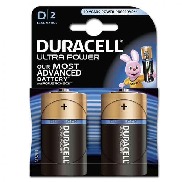 DURACELL Ultra Power MX1300 D BL2
