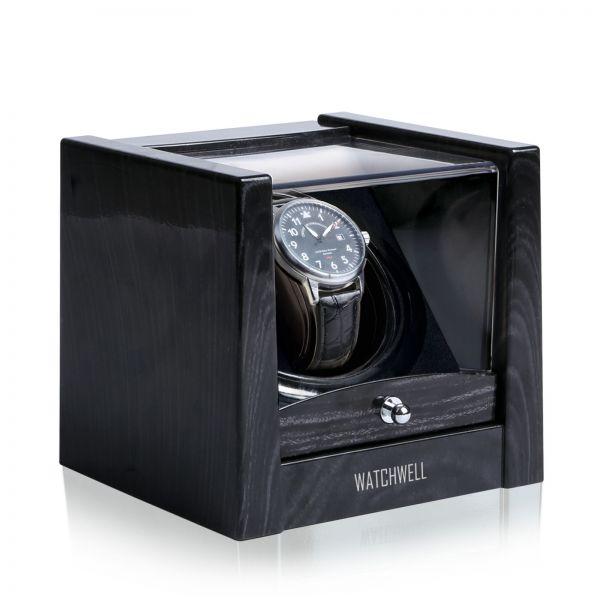 Vitrina de Movimiento para Relojes Automaticos Lupo V1 - Negro