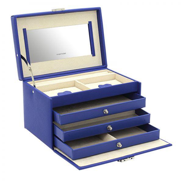 Boite à Bijoux Jolie 2.0 - Bleu Royal