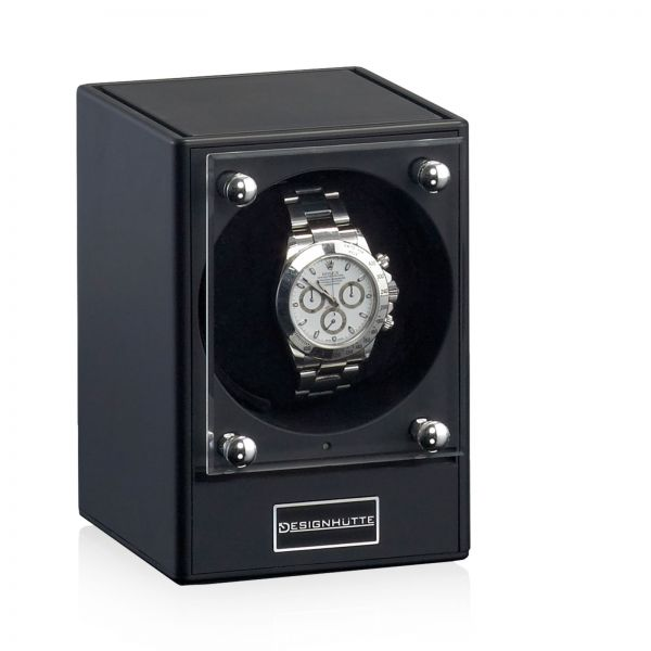 Watch Winder Piccolo - Black (without Power Supply)
