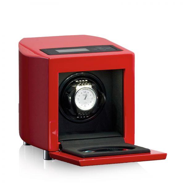 Vitrina de Movimiento para Relojes Automaticos Curve Rojo 1