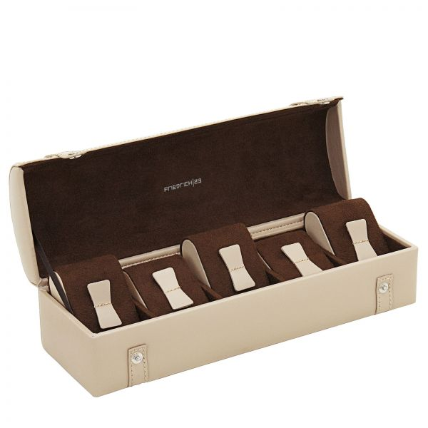 Uhrenkoffer Cordoba S - Beige/Silver