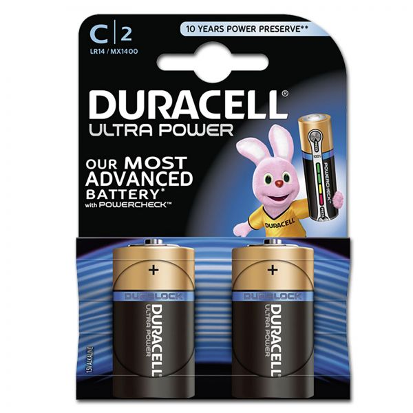 DURACELL Ultra Power MX1400 C BL2