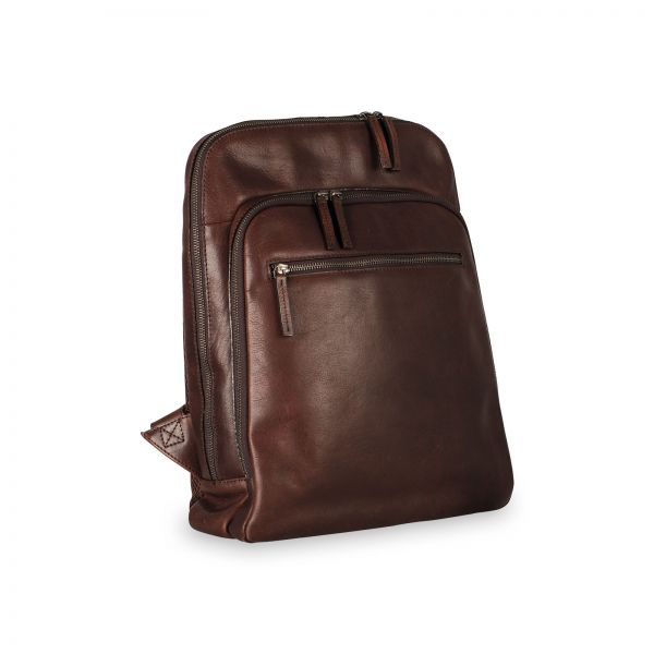 Roma Business Backpack - Brown