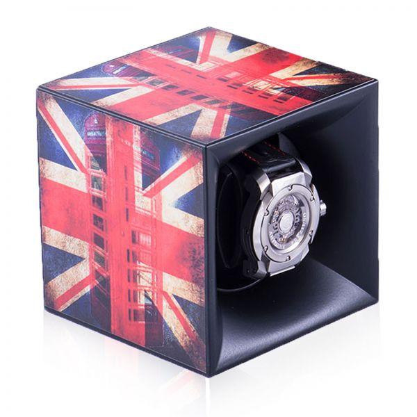 "Autocollant ""British Flag"" pour Swiss Kubik Starterbox"